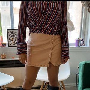 Oversized ZARA button-down shirt 💙🧡